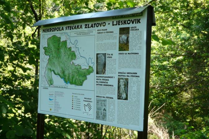 12. Info tabla na nekropoli stećaka u Srebrenici-foto Z.B.