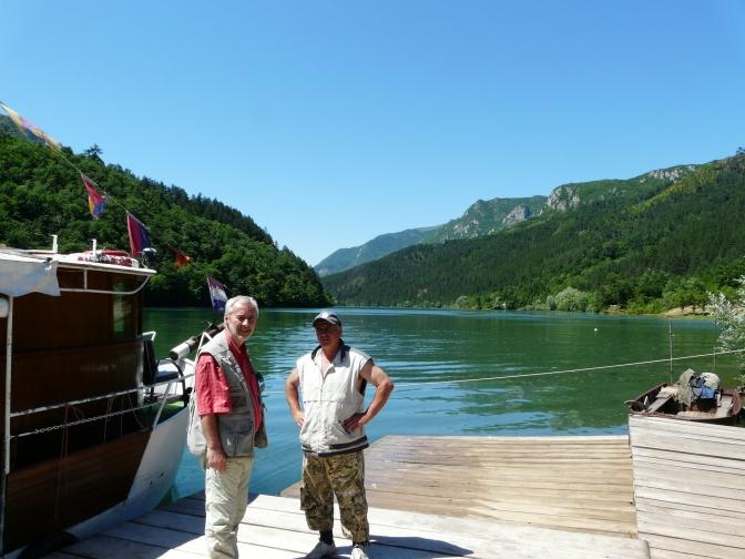 Odmorište Stari brod na jezeru Peručac-foto Z.B.