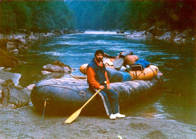 Z. Bibanovic-trodnevni rafting na Tari 1985.