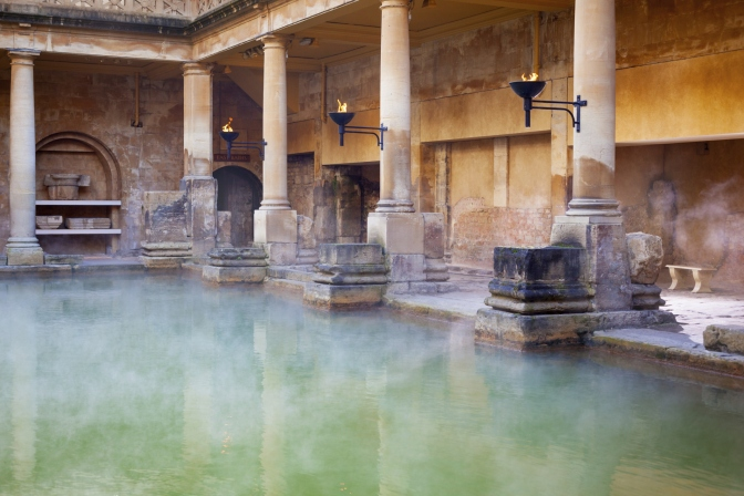 6.Detalj iz rimskih termi