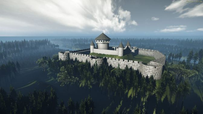 Vizija srednjovjekovnog grada