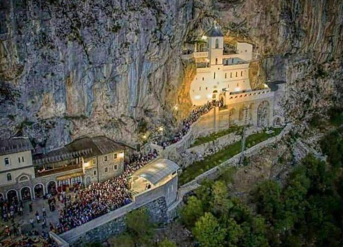 123. Manastir Ostrog u Crnoj Gori