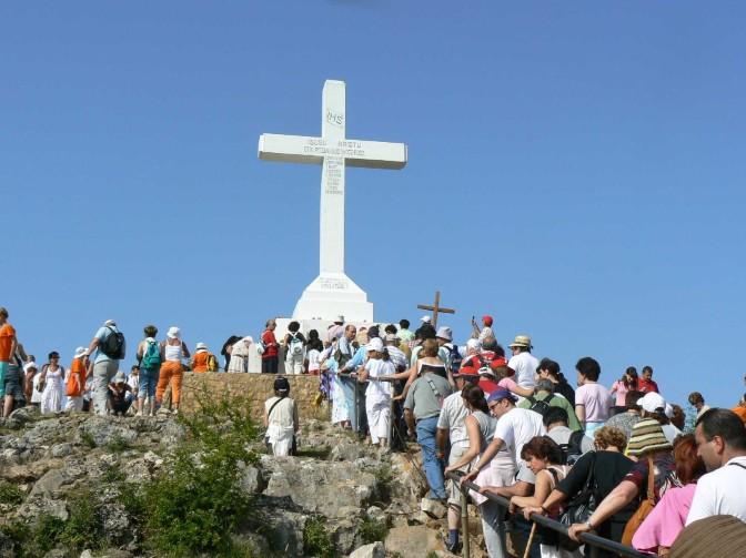 126. Hodočašće na brdo Križevac iznad Međugorja