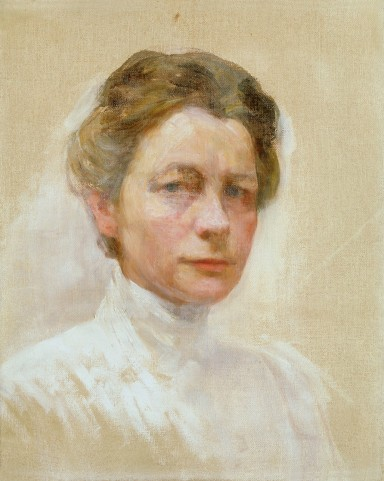 Ivana Kobilca, autoportret