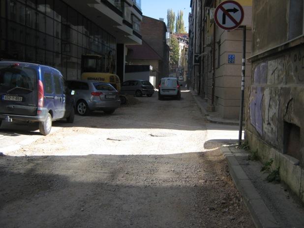Rekonstruirana Kemalbegova bez trotoara