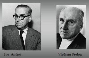 Ivo Andrić i Vladimir Prelog