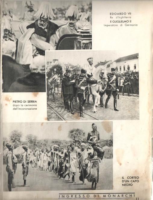 Kraljevske ceremonije- englesko-njemacka; srbijanska; plemenska.