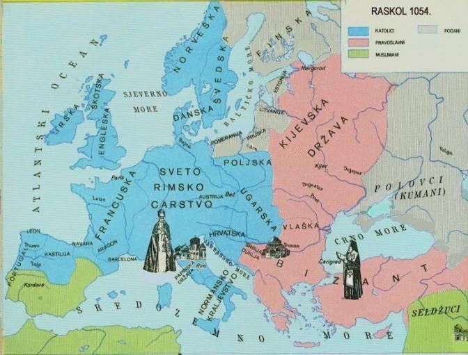 13. Crkveni raskol (1054.) Velika shizma