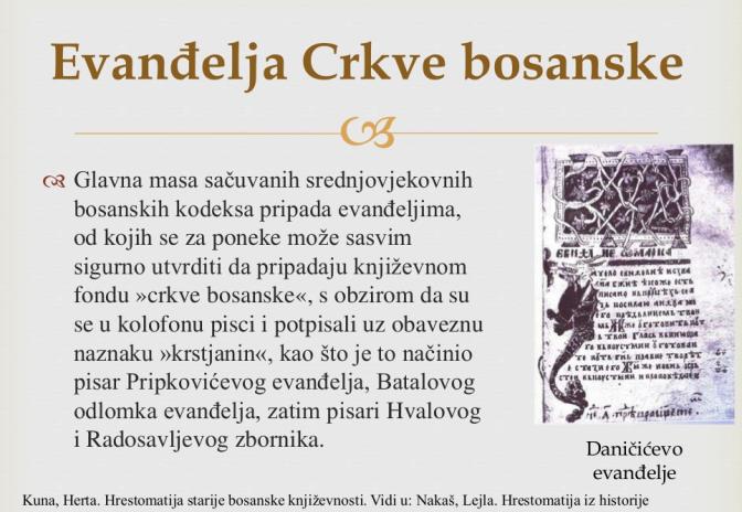 Evanđelje Crkve bosanske