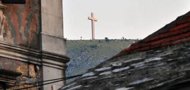 Križ nad Mostarom