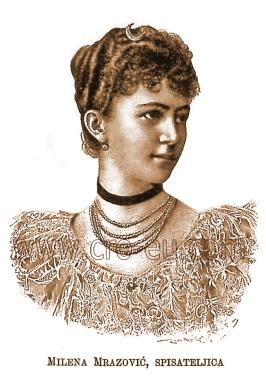 milena preindlsberger mrazović 1863-1927.