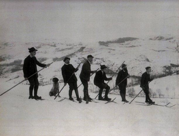 prvi skijasi na betaniji (a la zdarski) iza 1890. godine