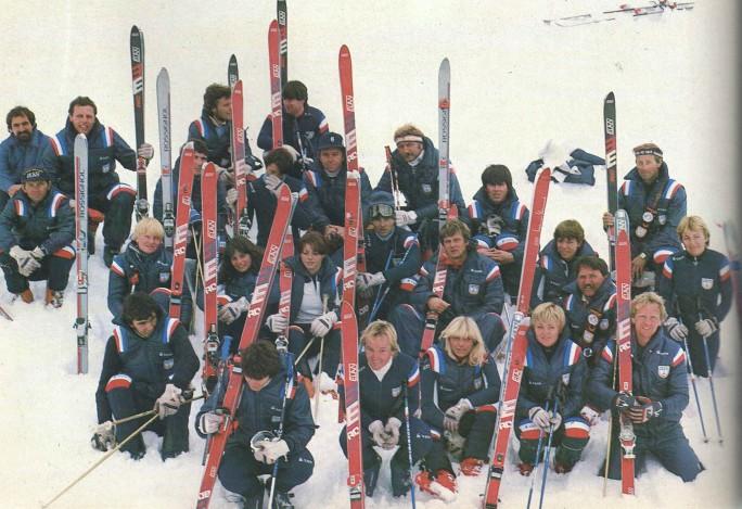 ski reprezentacija 1981.