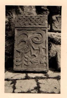 33. Fragment kamene plastike (XI do XII stoljeće) iz crkve sv. Petra u Zavali