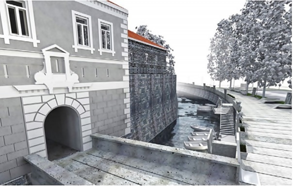 Crtež arhitekte Ninoslava Ilića