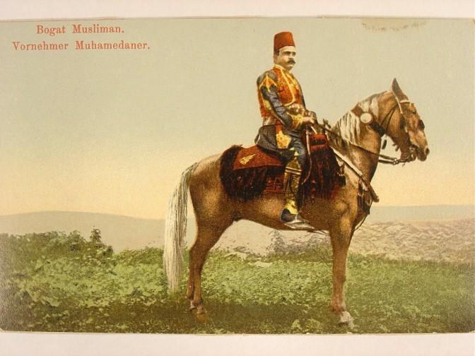 Konj sa prekrivačem i ukrasima