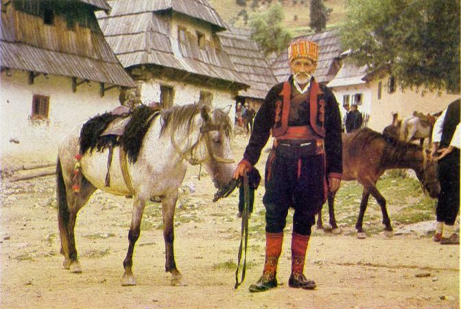 Nošnja iz sela Rakitnica sa Bjelašnice