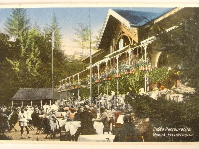 Restoran željezničke stanice na Ilidži