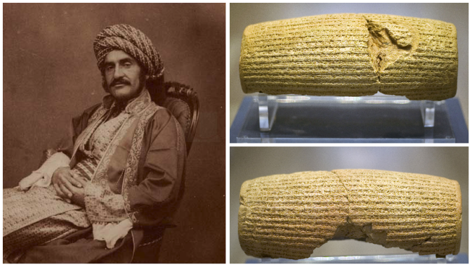 1. Arheolog Hormuzd Rassam i Kirov cilindar