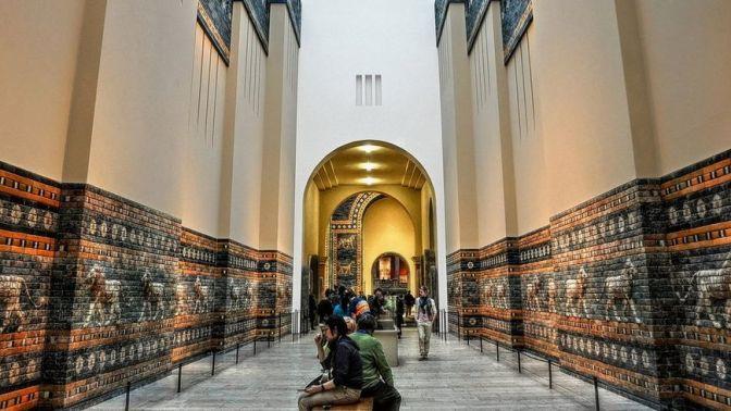 Detalj iz Muzeja Pergamon u Berlinu