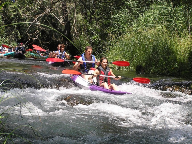 Canoe safari na Trebižatu