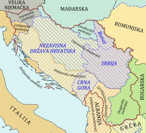 Okupacija Jugoslavije 1941.