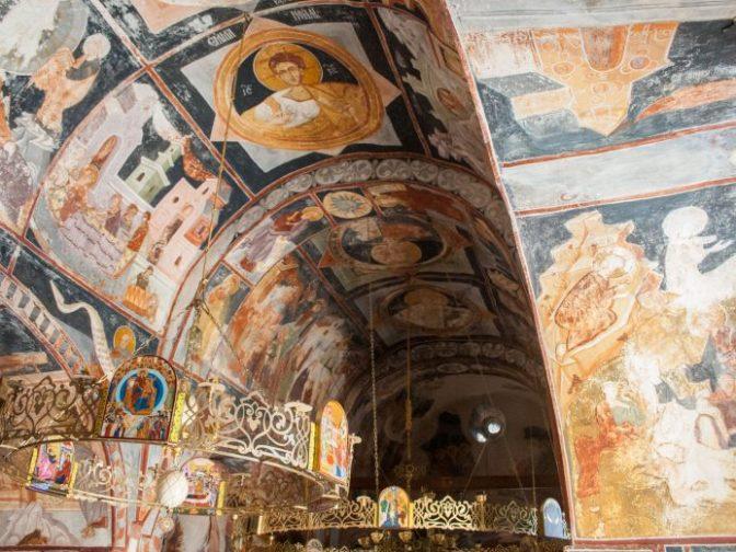 Freske manastira Zavala kraj Ravnog