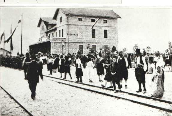 Doček voza u Trebinju