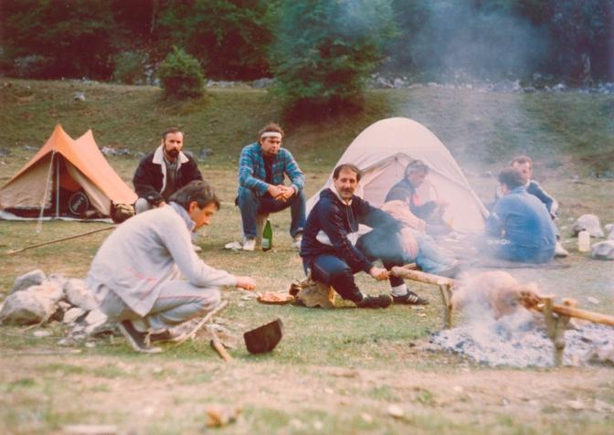 Slobodno sportsko kampovanje. Boravi i napusti prostor kao da tu niko nije boravio